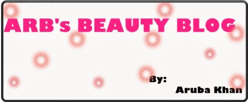 Arb's beauty blog