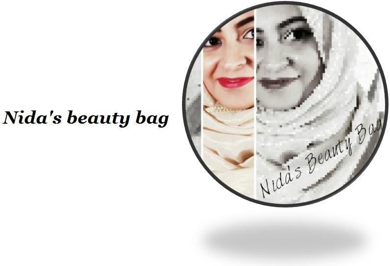 Nida's beauty bag